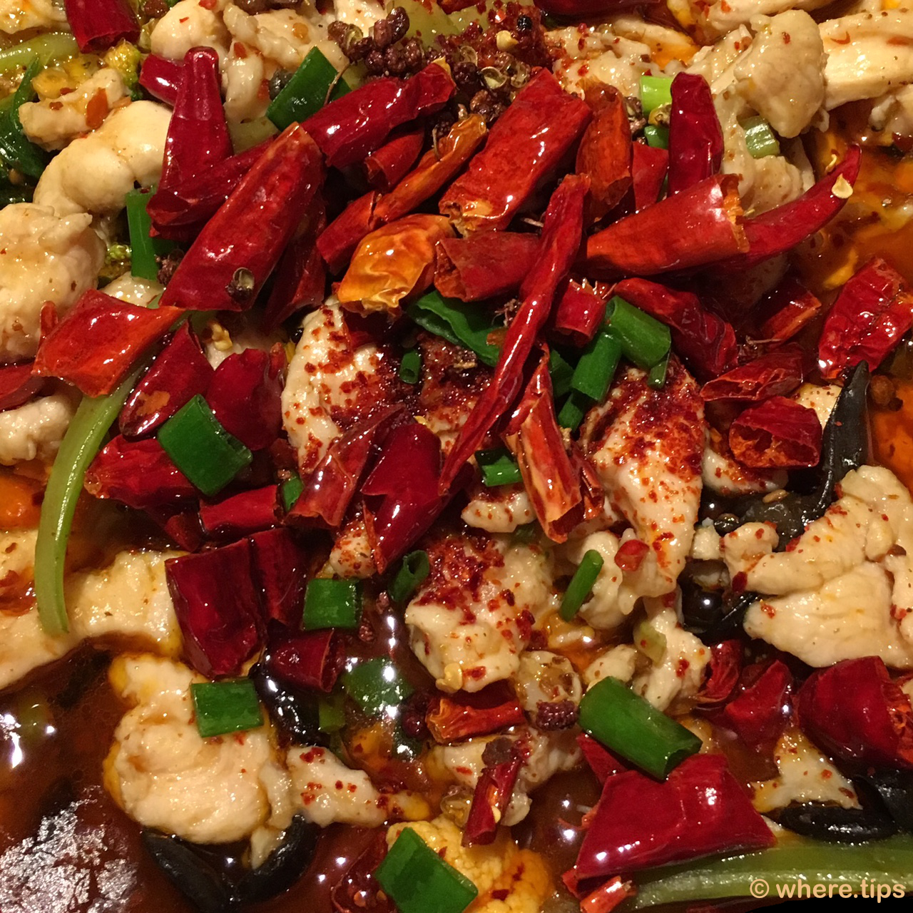 Chili chicken, China Sichuan Restaurant, Amsterdam by where.tips