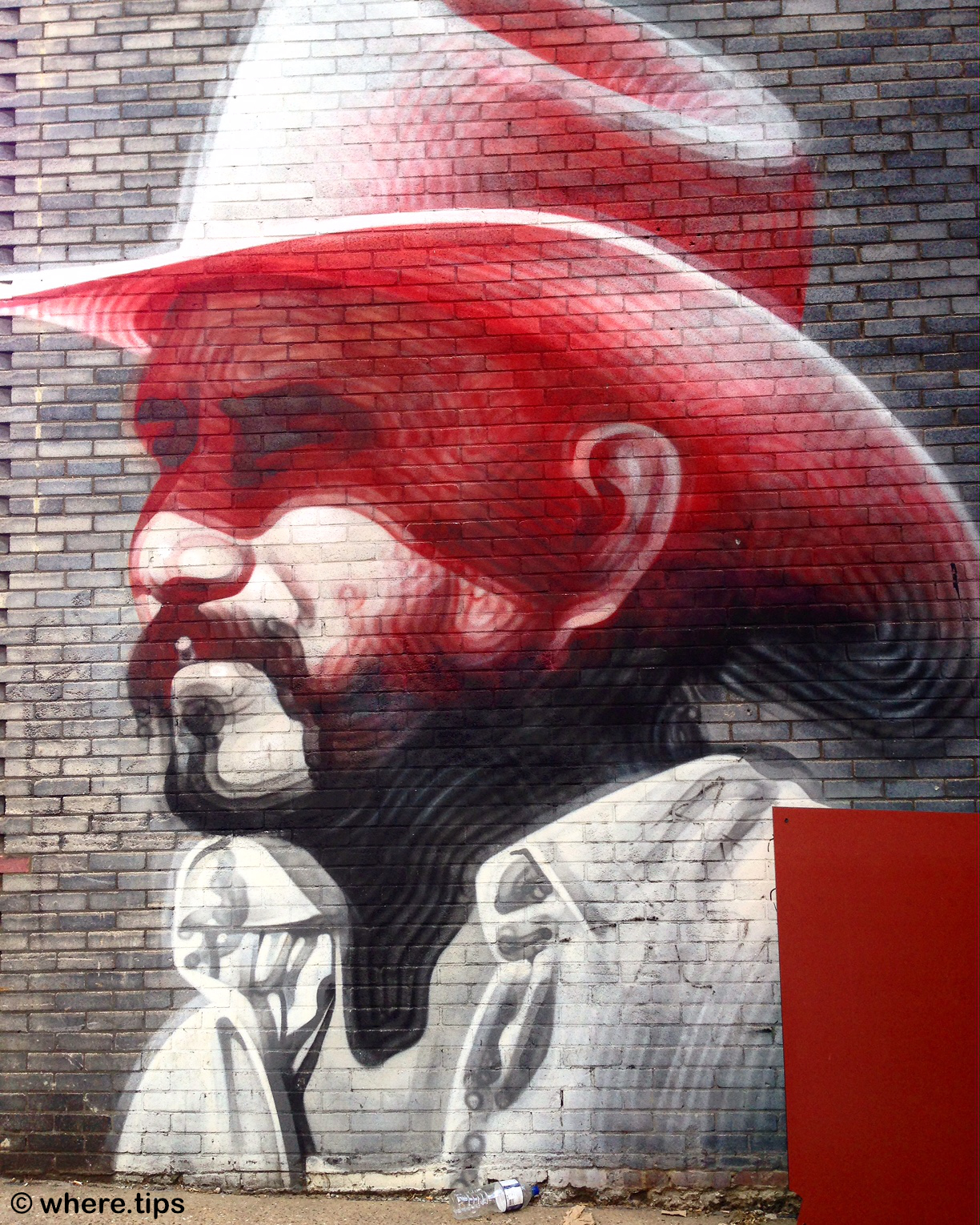 Man with Stetson, Hewett Street, London by where.tips