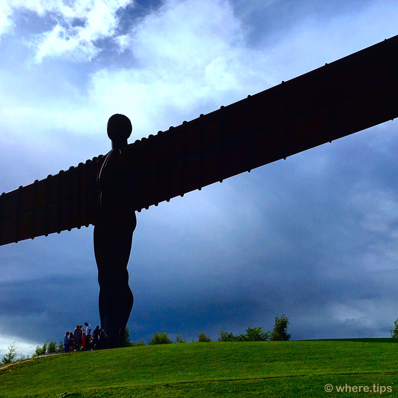 The Angel of the North by where.tips